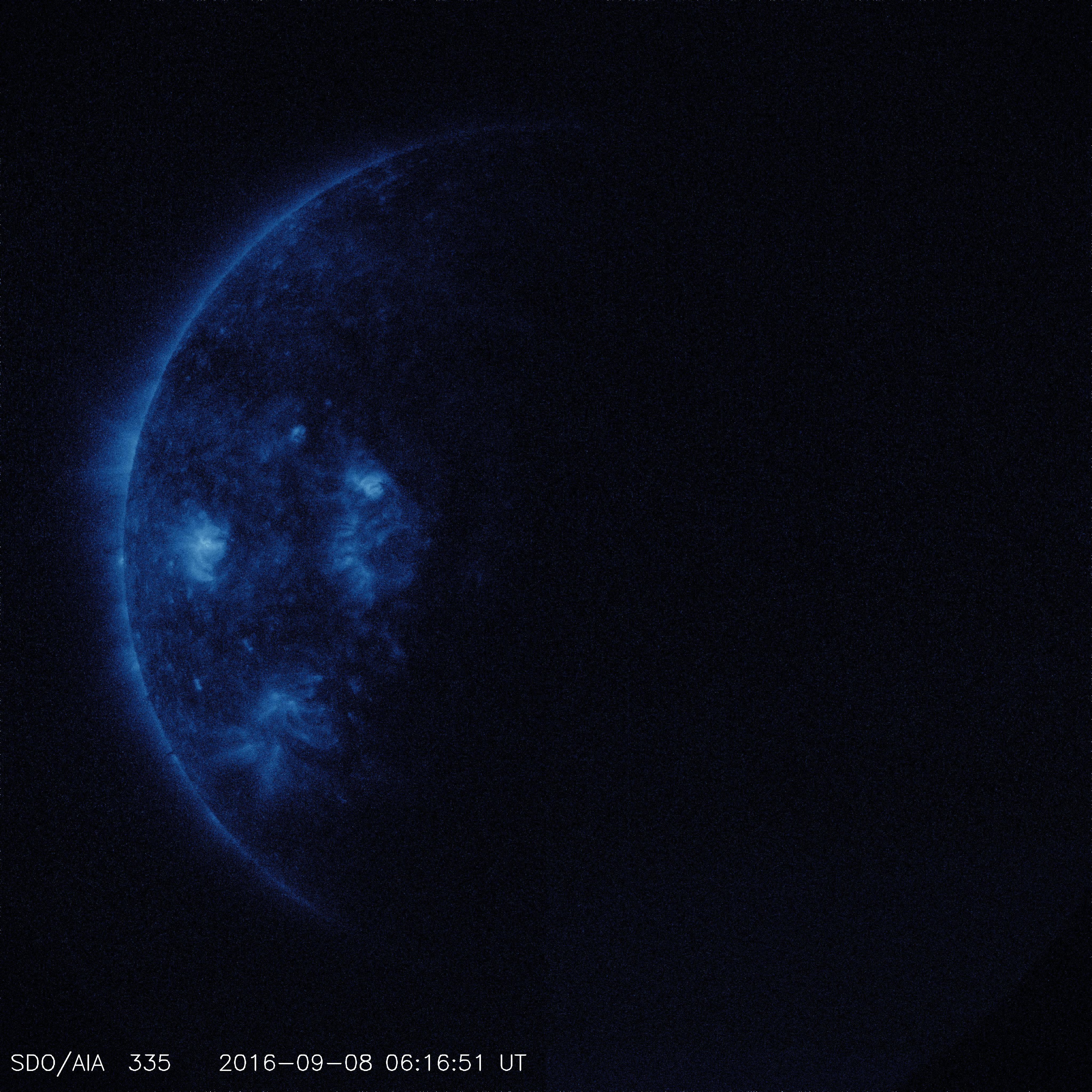 SDO Entering Earth's Shadow - YouTube