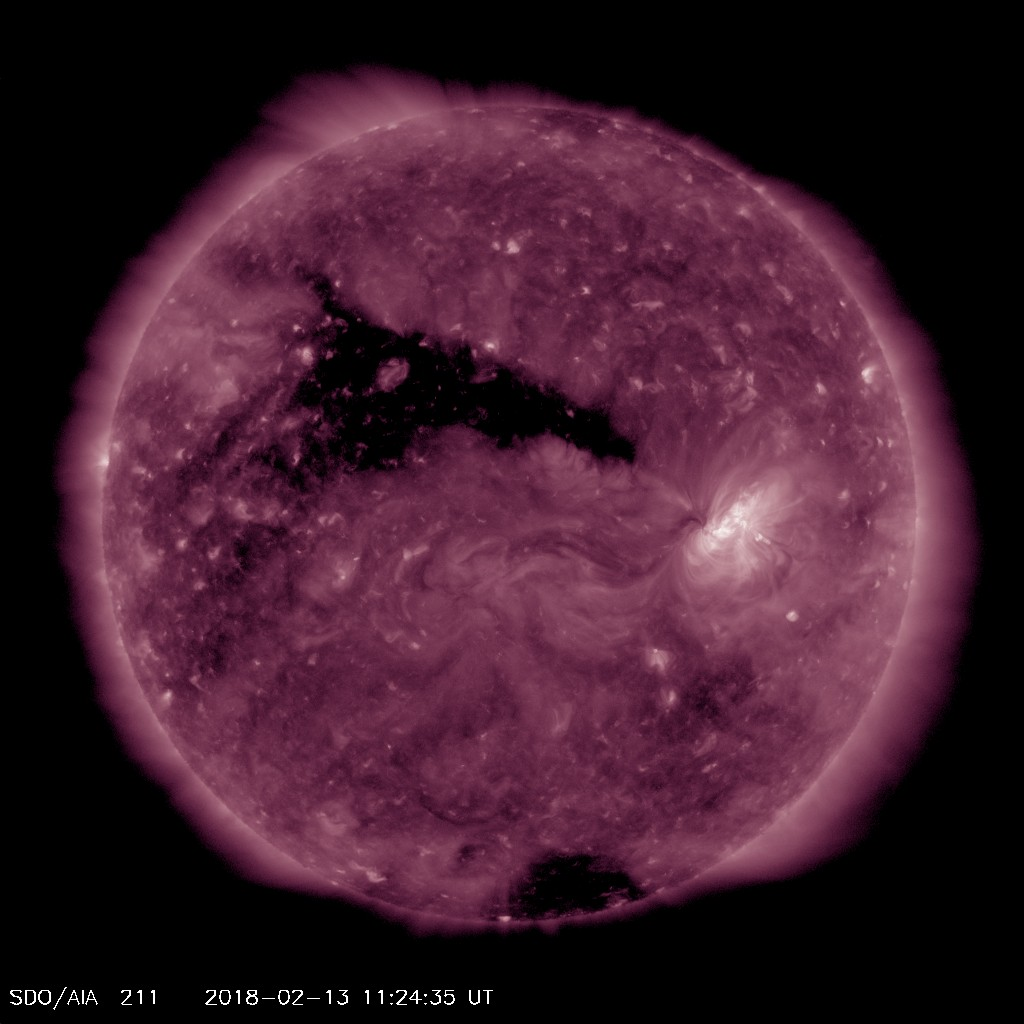 The Sun's Corona, with Coronal Holes