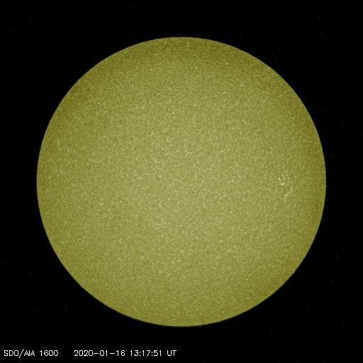 Browse Data: 2020-01-16 13:17:51 - AIA_1600
