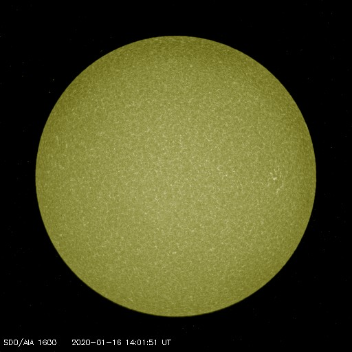 Browse Data: 2020-01-16 14:01:51 - AIA_1600