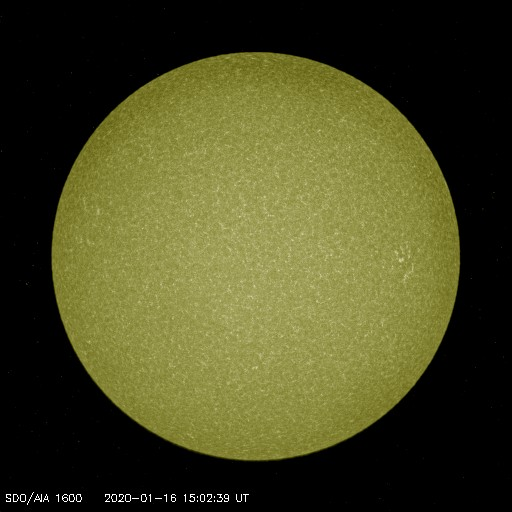 Browse Data: 2020-01-16 15:02:39 - AIA_1600