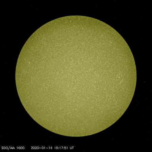 Browse Data: 2020-01-16 15:17:51 - AIA_1600