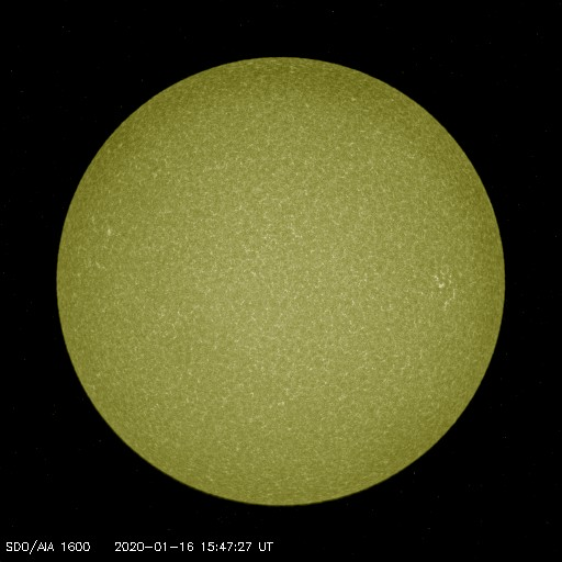 Browse Data: 2020-01-16 15:47:27 - AIA_1600