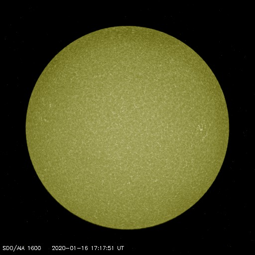 Browse Data: 2020-01-16 17:17:51 - AIA_1600
