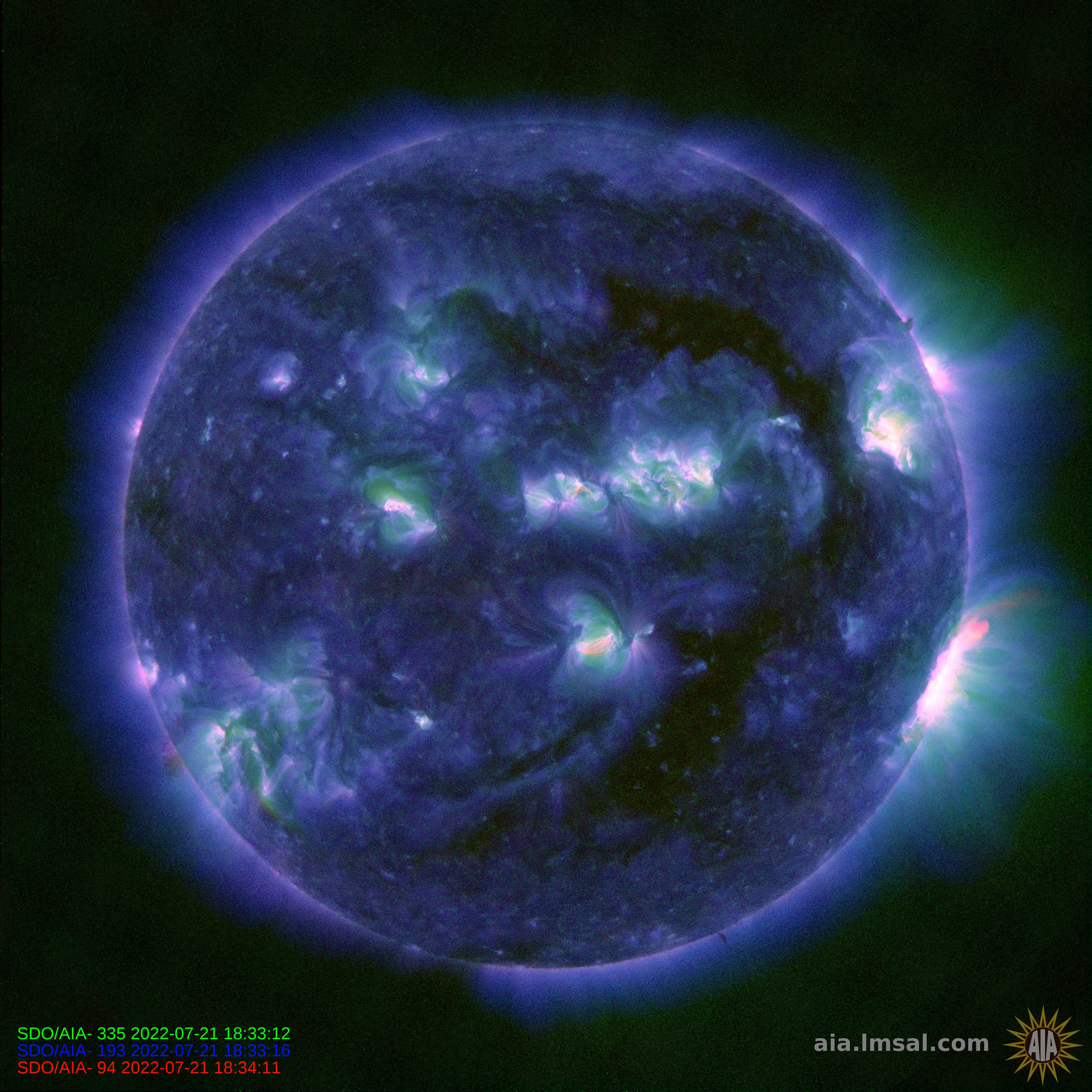 Current Sunspot Cycle Activity Space Weather Solar Storm ...