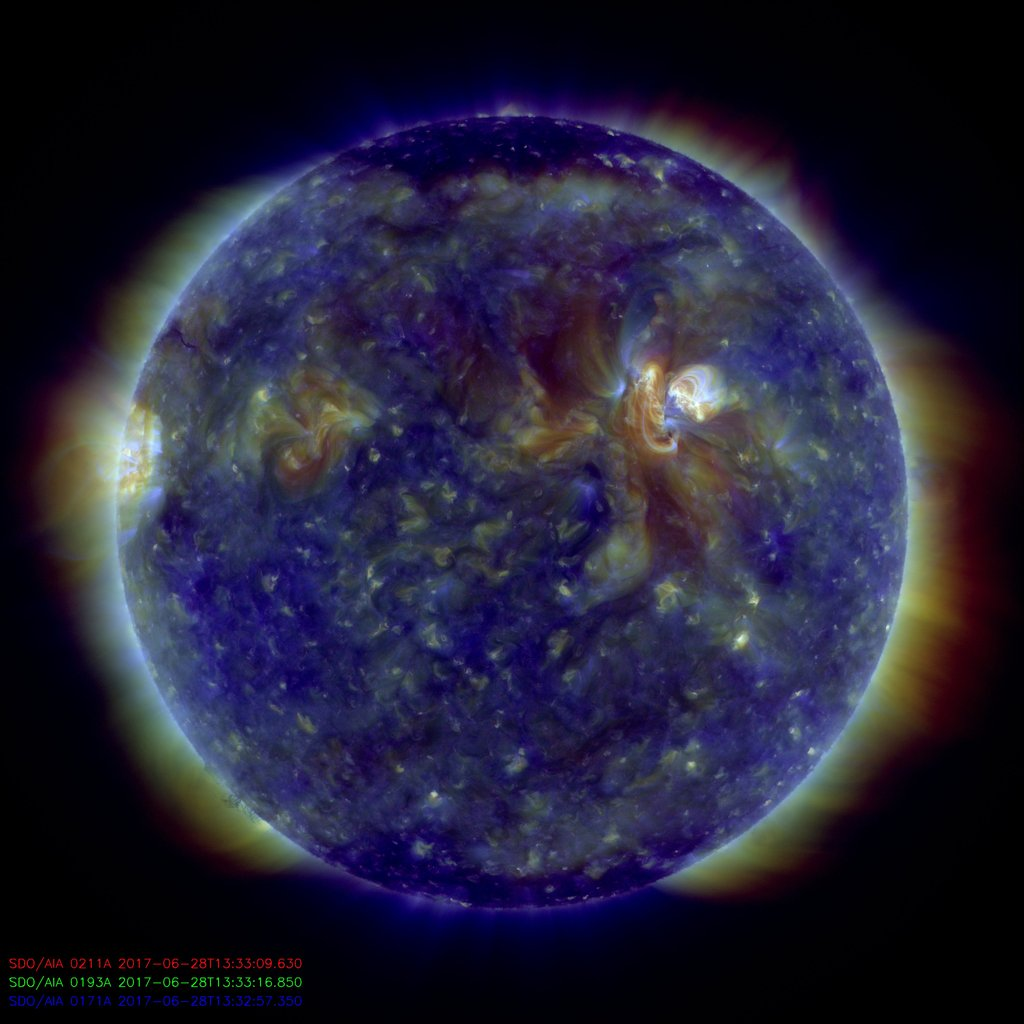 image of Sun taken by SDO