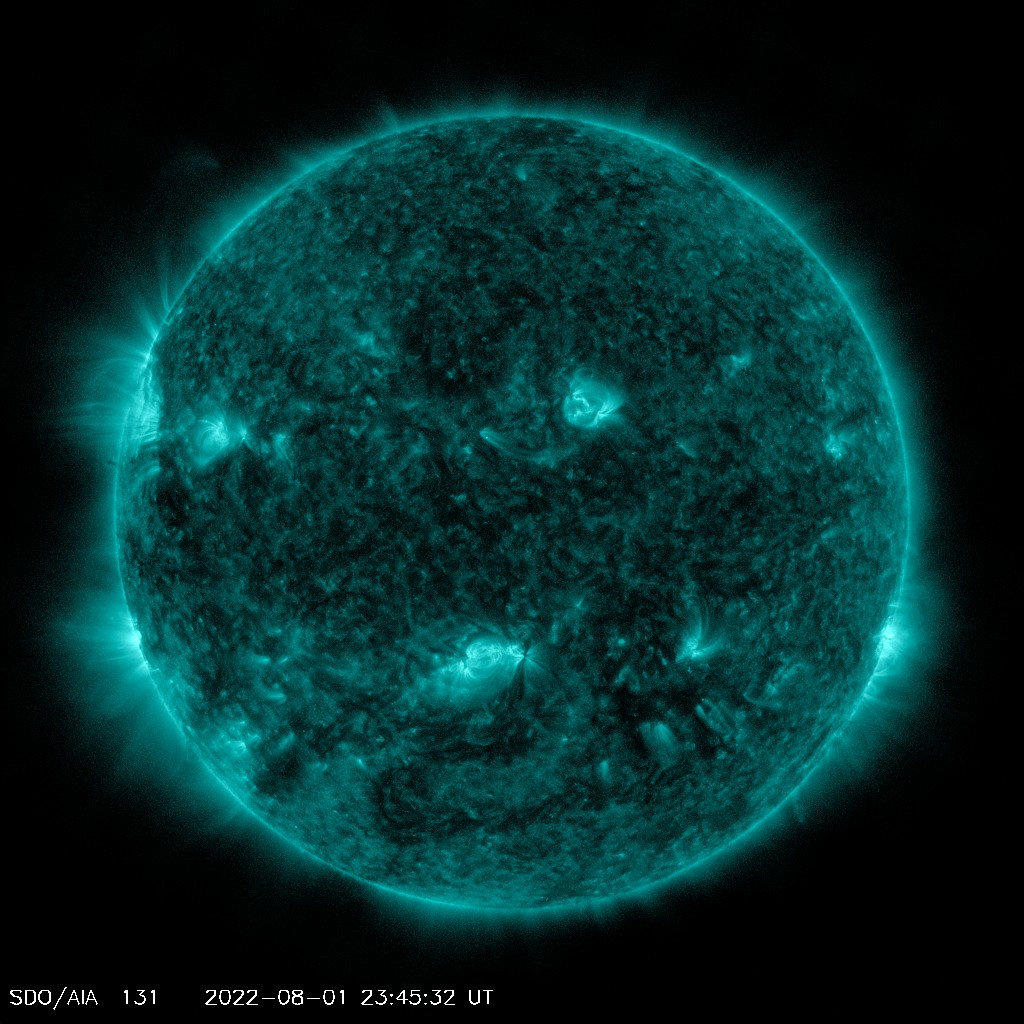 Current AIA 131 image from SDO