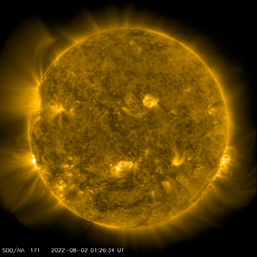 SDO / AIA 171 Angstroms Channel