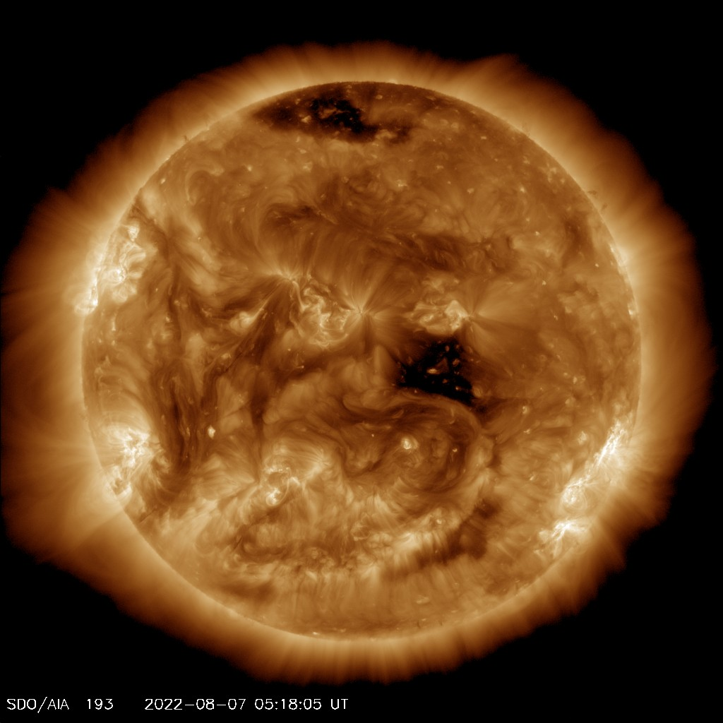 SOHO EIT 193 image of the sun