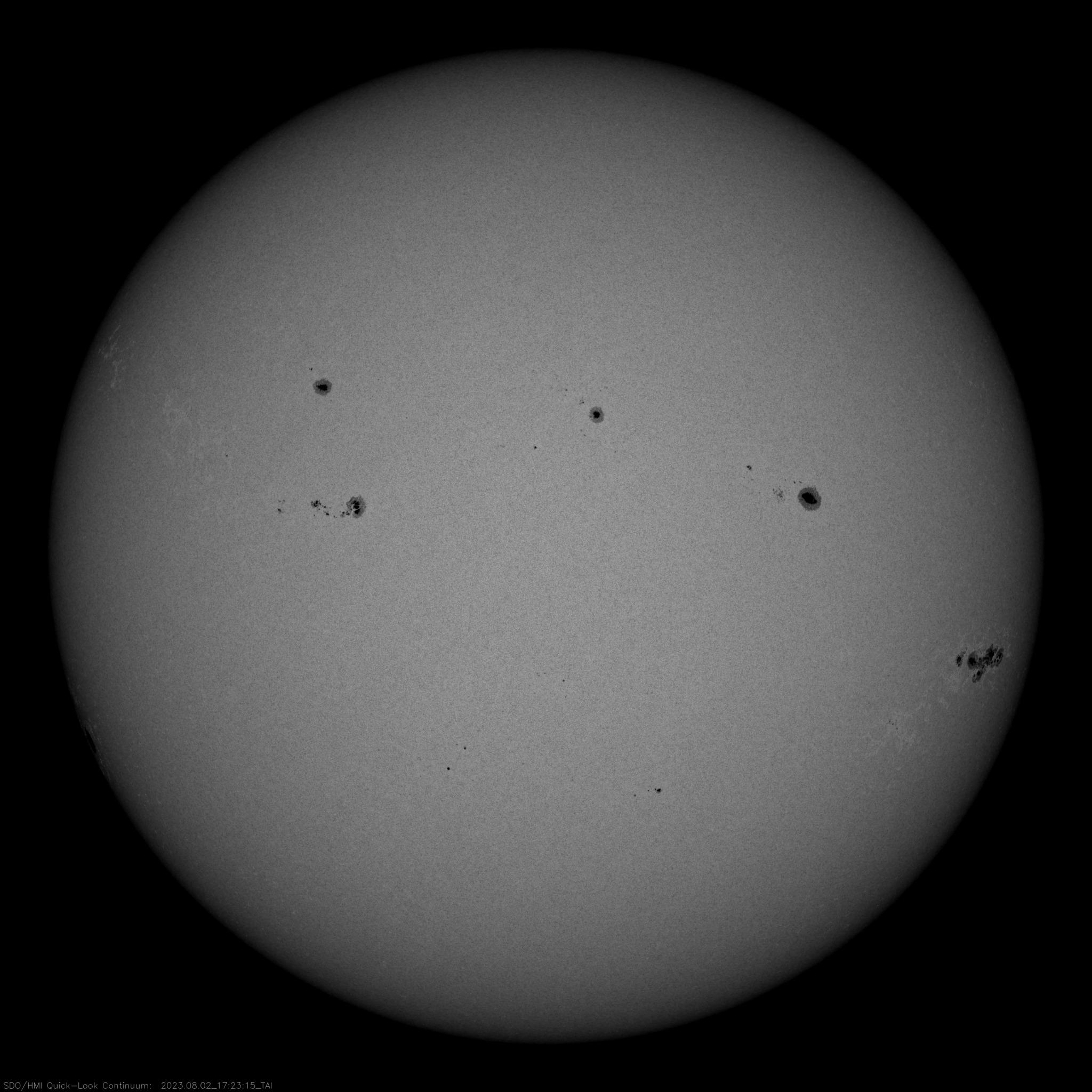 Conteo de Manchas solares