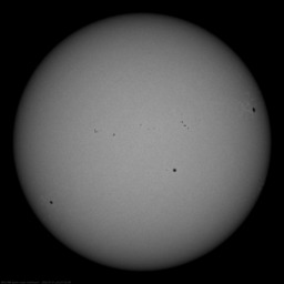 Свежий снимок Солнца