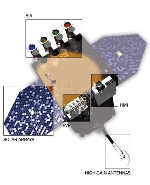 detailed spacecraft