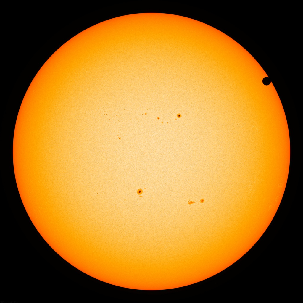 En directo: esperando que Venus cruce el Sol